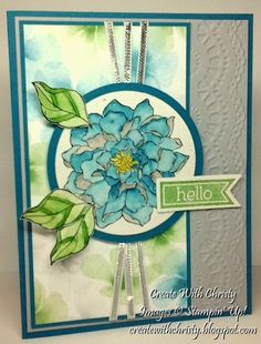 Hello! by StampinChristy - Cards and Paper Crafts at Splitcoaststampers