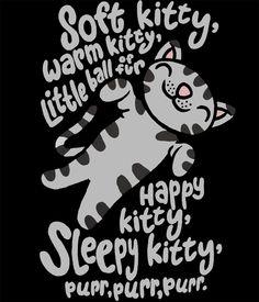 Camiseta chica The Big Bang Theory. Soft Kitty