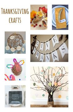 Thanksgiving crafts are a wonderful way to keep little hands busy. Gather your craft supplies for a little mom and tot craft time.