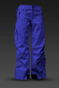 image of Skea Women's Cargo Pant in Bright Blue
