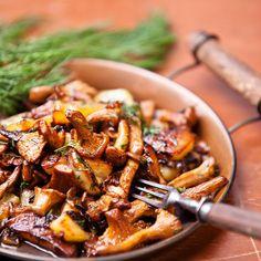 Saute of Wild Mushrooms Recipe