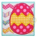 Easter Egg Box 2 Applique - I2S