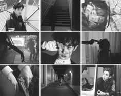 """Chanyeol Mafia AU - Moodboard """"She did not care if he was heartless, vicious and vulgar, she loved him. She would rather have misery with one than happiness with the other. Exo Chanyeol, Yixing, Chanbaek, Greek Mythology, Mafia, Mood Boards, Love Him, Kpop, Cut Outs"""