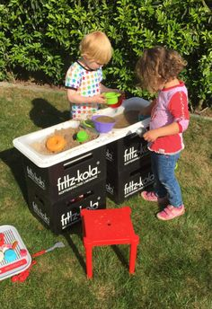 An easy mud kitchen for kids | IKEA Hackers