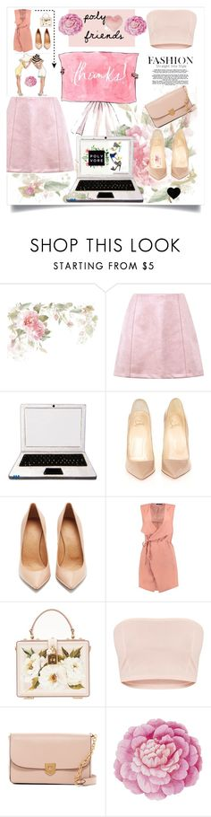 """""""Thank you guys.💓read the description, please."""" by aura-helena ❤ liked on Polyvore featuring Bodas, Christian Louboutin, Maison Margiela, Boohoo, Dolce&Gabbana, Cole Haan, Ballard Designs and Nordstrom Rack"""