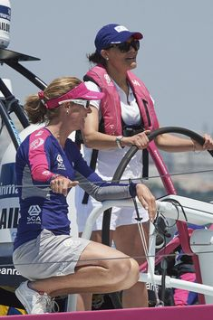 zimbio: Swedish Visit to Portugal, June 5, 2015-Crown Princess Victoria attended the Volvo Ocean Race, Lisbon