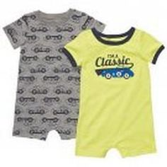 CARTERS Boys 24 Months CLASSIC Car Romper Set, NEW #Glimpse_by_TheFind