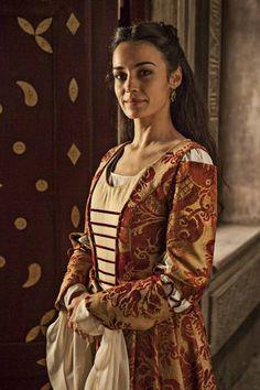 Sara Rivero es Beatriz de Osorio- Dama de Isabel
