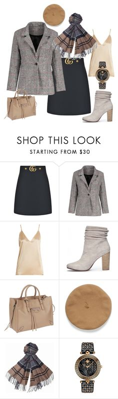 """""""свободная пятница"""" by tungus-k on Polyvore featuring мода, Gucci, Raey, Chinese Laundry, Balenciaga, Barbour и Versace"""
