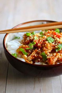 shan noodles - Shan khao swé