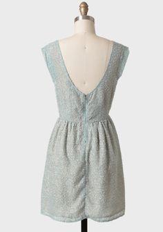 Mint Perfection Textured Dress | Modern Vintage En Pointe 14 | Modern Vintage Shop En Pointe