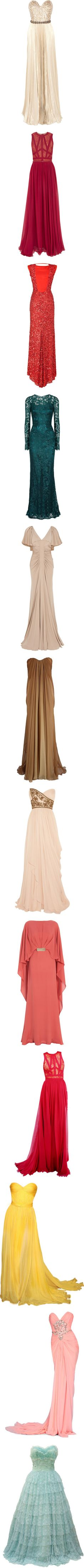 """""""Gowns"""" by martina1991 ❤ liked on Polyvore"""