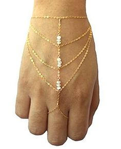Handmade Chain Bracelet Bangle Slave Finger Ring Hand Harness Gold bohemian boho vintage fashion Classic Handmade Jewelry http://www.amazon.com/dp/B00KZ97H8E/ref=cm_sw_r_pi_dp_mwJEub05BR7XQ