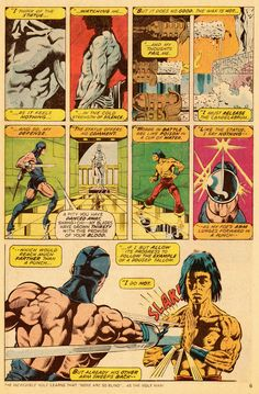 Paul Gulacy & Doug Moench, Master of Kung Fu #30