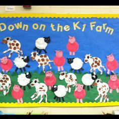Bulletin board farm.