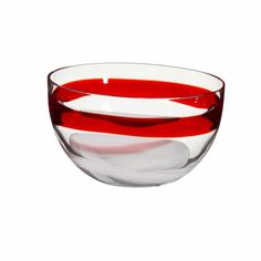 Murano Glas - Schale Dinnerware, Alcoholic Drinks, Wine, Glass, Interior, Red, Dishes, Dinner Ware, Tableware