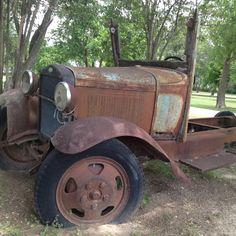 Old Ford near Borne ,Texas