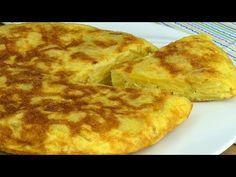 Tuhle omeletu po zhlédnutí našeho receptu určitě vyzkoušíte!| Chutný TV - YouTube Breakfast Recipes, Dinner Recipes, How To Cook Eggs, Quick Easy Meals, Pizza, Cheese, Cooking, Food, Omelette
