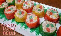 candy sushi rolls & candy sushi + candy sushi rolls for kids + candy sushi how to make + candy sushi diy + candy sushi rolls + candy sushi videos + candy sushi recipe + candy sushi for kids Candy Sushi Rolls, Sushi For Kids, Easy Pudding Recipes, Sushi Roll Recipes, Brownie Pudding, Diy Sushi, Yogurt Chicken Salad, Chocolate Macadamia Nuts, Mint Brownies