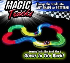 220pcs Magic Glow Tracks     Tag a friend who would love this!     FREE Shipping Worldwide     Buy one here---> http://www.dicknvicki.com/product/220pcs-magic-glow-tracks/