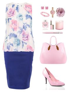 """""""Cristiana"""" by michela68 ❤ liked on Polyvore featuring Aevha London, Kate Spade, Palm Beach Jewelry, FRACOMINA, Dorothy Perkins, Victoria's Secret, Pleaser, Clarins, Caran D'Ache and LAFCO"""