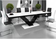 stół-rozkładany,stół-do-jadalni,stół-nowoczesny,stół-połysk-biały-czarny-brąz-szary