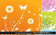 Spring floral background | Coolvectors.com