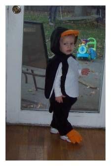 penguin costume pattern