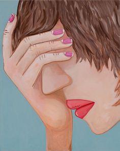 "Brian Calvin - ""Gesture"", 2016. Arte."