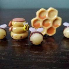 Super cute bee charms