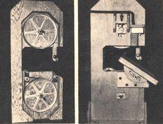 Proyectos de Carpintería: CONSTRUYA SU SIERRA DE BANDA - Mi Mecánica Popular                                                                                                                                                                                 Más