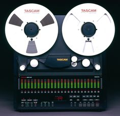 Enough LED VUs for you? Tascam MSR24...K