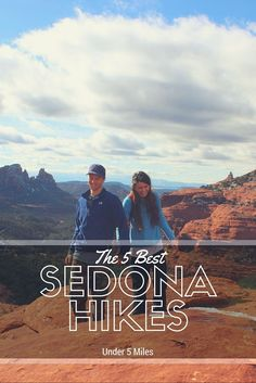 Find the best hiking trails in Sedona under 5 miles!