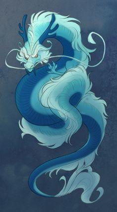 Eastern Dragon by MowenDesigns on DeviantArt
