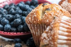 Gluten-Free Recipe: Blueberry Corn Muffins - choose your fruit and sub out the butter