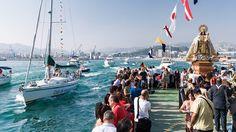 La Festividad de Nuestra Señora del Carmen se celebra el 16 de julio y consiste en una procesión terrestre y posterior procesión marítima de imágenes bajo la advocación de la Virgen del Carmen, patrona de los marineros.