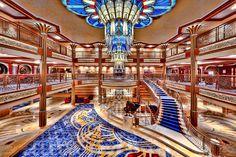 Disney Cruise ship - so beautiful!  www.facebook.com/tiaratravels