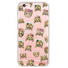 Coque Motif Émoji Singe iPhone 6/6plus/6s/6s plus