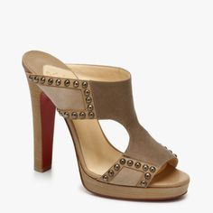Christian Louboutin Charleze 160mm Sandals Stone