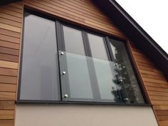Glass juliette balcony. Supplied by Morris Fabrications Ltd.