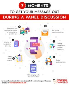 7 Ways You Can Get Your Message Out During a Panel Discussion Third Way, Infographics, Insight, How To Memorize Things, Knowledge, Success, Social Media, Organization, In This Moment