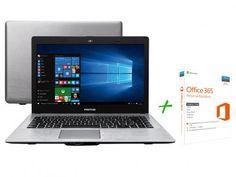 """Notebook Positivo Premium XR7556 Intel Core i3 - 4GB 500GB LED 14"""" + Office 365 Personal com as melhores condições você encontra no Magazine Jc79. Confira!"""