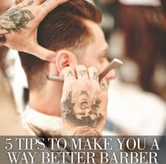 5 Genius Tips! #behindthechair #barber #stylist #hair