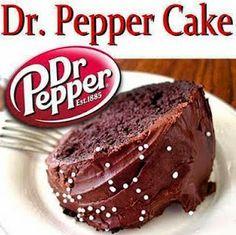 Best recipes in world: DR. PEPPER CAKE