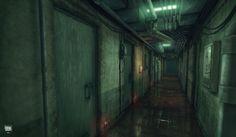 Oldboy Corridor by xell on deviantART