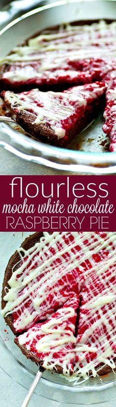 This flourless mocha