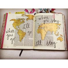 I like the idea of putting washi tape on the pages Bible Drawing, Bible Doodling, Bible Art, Bible Quotes, Esther Bible, Bibel Journal, Bible Study Journal, Art Journaling, Illustrated Faith