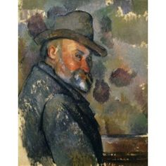 Self Portrait (Autoportrait) c 1890-1894 Paul Cezanne (1839-1906 French) Oil on canvas Private Collection Canvas Art - Paul Cezanne (18 x 24)