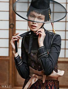 [VOGUE] LA TRAVIATA - 여자들의 마음을 흔드는 코리안 팬츠 룩 : 네이버 블로그 Vogue Spain, Vogue Korea, Vogue Editorial, Editorial Fashion, Korean Traditional, Traditional Outfits, Culture Clothing, High Fashion Photography, Lifestyle Photography