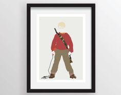 Home Alone (Kevin McCallister) - Minimalist Poster Print, Minimal Wall Art - Limited Edition of 250